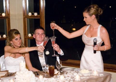 How To Deliver A Wedding Reception Toast